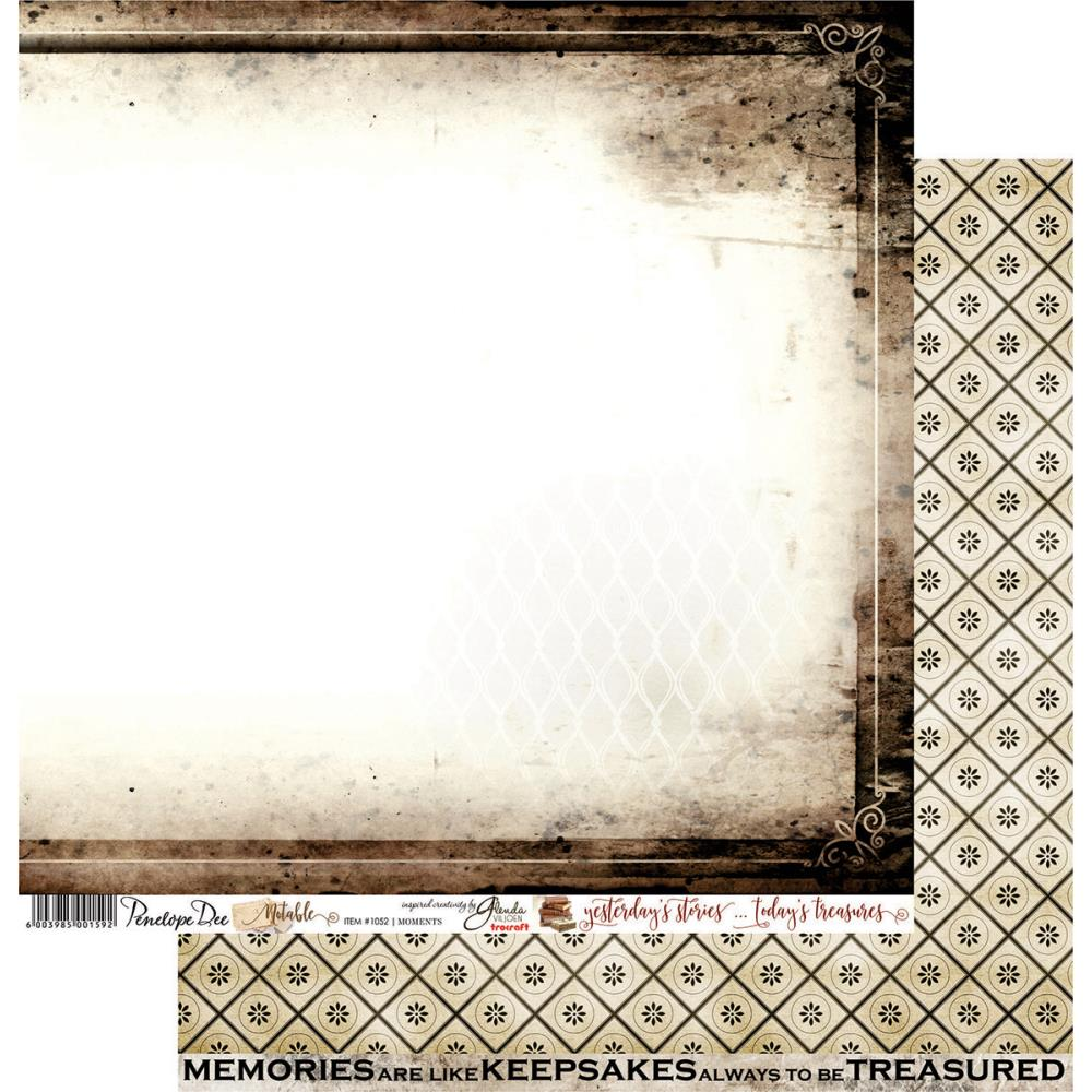Papel para scrap hoja de 12 x 12 in.