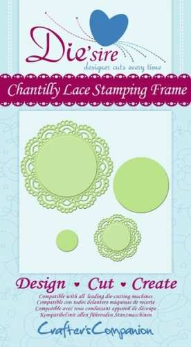 Die´sire Decorative Dies Chantilly Lace Stamping Frame