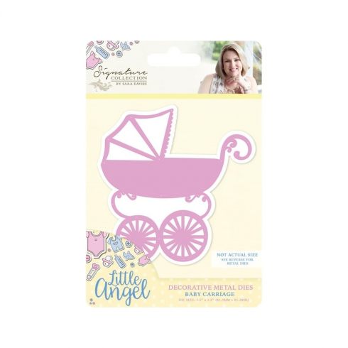 Crafter s Companion Little Angel- Baby Carriage